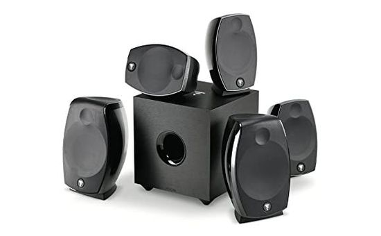 5.1 House Speaker System With Front Dial