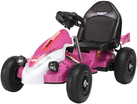 Girls Electric Go Kart With Small Wheels