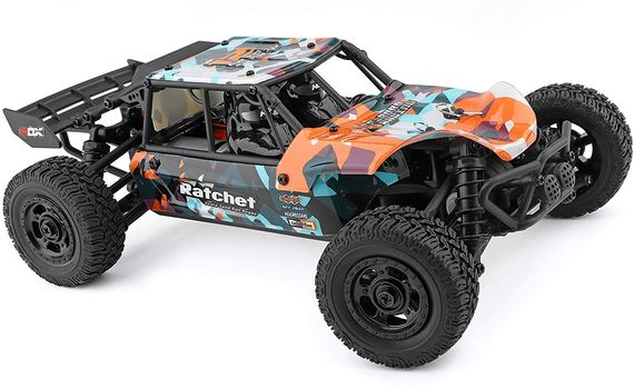 Electric RC Car Buggy With Large Wheels