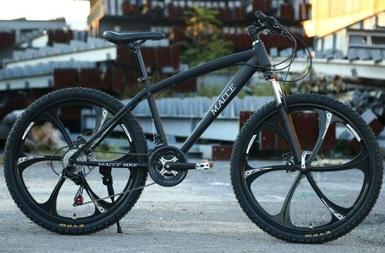 Mountain Bike With Carbon Steel Frame