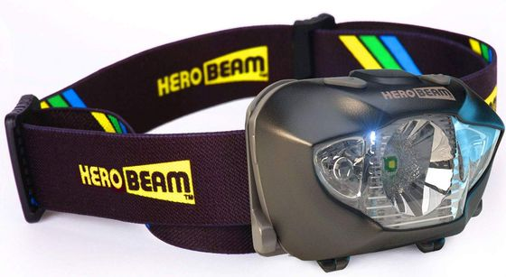 Head Torch With Red Filter Light