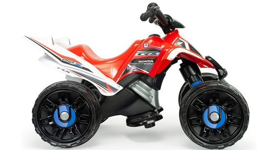 Kids Electric Quad Bike In Red And White