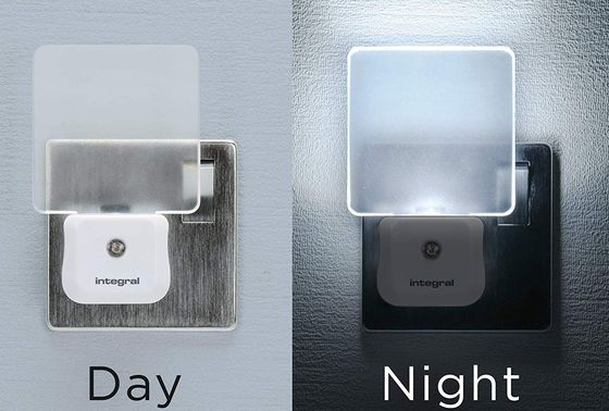 Sensor Night Light Showing Day And Night