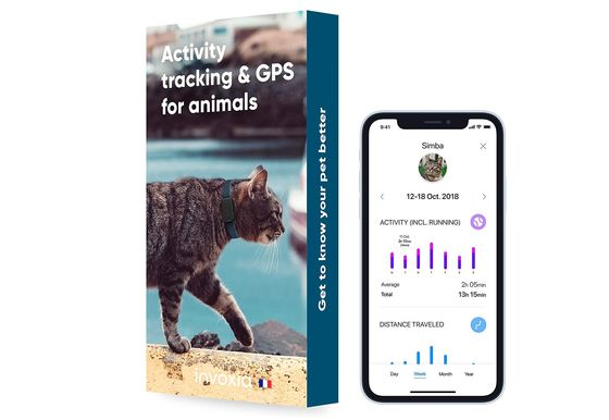 Cat Activity Tracker GPS With Mobile Phone