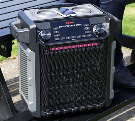 Portable PA System With Big Handle