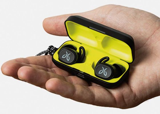 Sport Wireless In Ear Headphones With Yellow Case