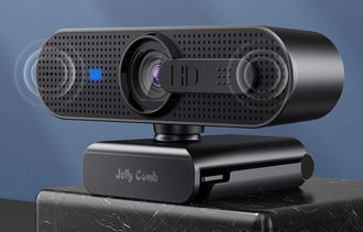 HD USB Webcam In Black