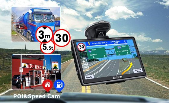 Sat Nav With Bluetooth And Black Frame