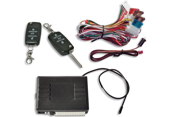 Remote Keyless Car System With 2 Fobs
