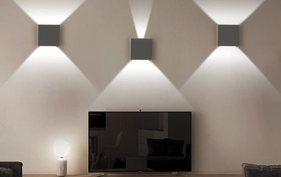 LED Wall Light Giving A Warm White Effect