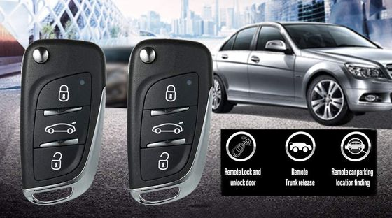 Car Door Entry Kit Black Fobs