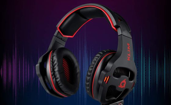PS4 Headset With Soft Black Muffs