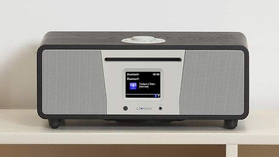 Brown DAB Radio With Bluetooth CD On 4 Legs