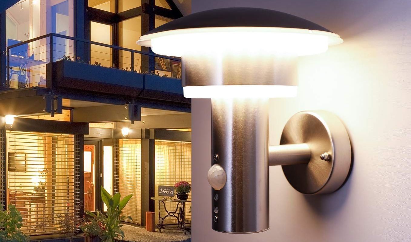 Outdoor Wall Lights With Dusk To Dawn