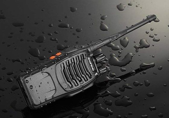 Professional Walkie Talkie In Black