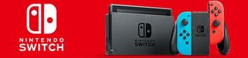 Nintendo Switch In Red And Black