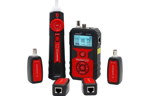 CAT5 Cable Tester In Red And Black