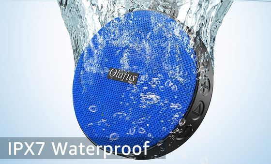 Bluetooth Shower Speaker With Blue Exterior