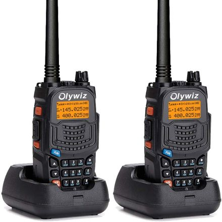 Rechargeable Walkie Talkies In Base