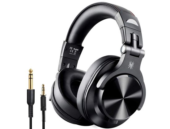 Wireless Headset For PC With Black 3.5 Wire