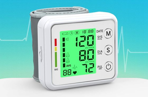 Blood Pressure Monitor With Green Screen