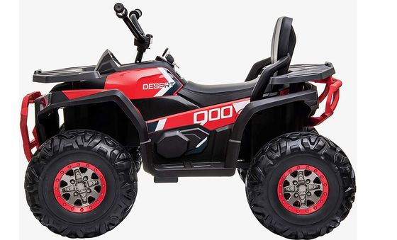 Electric Ride-On ATV Quad In White And Red