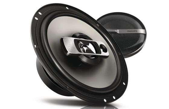 Coaxial 6.5 Inch Car Speakers In Black