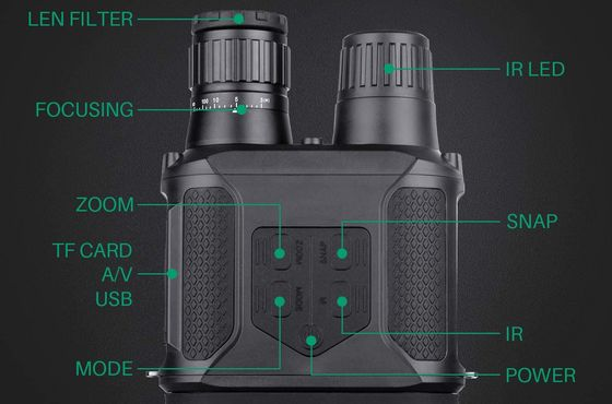 Infrared Binoculars With USB Port