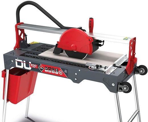 Wet Tile Cutter Machine With Black Hose Pipe