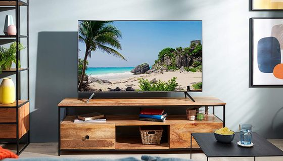 55 Inch 4K TV With 4 Legs