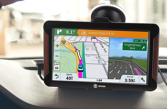 Touch GPS Screen With Sucker