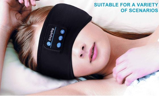 Bluetooth Headband SleepPhones With Blue Buttons