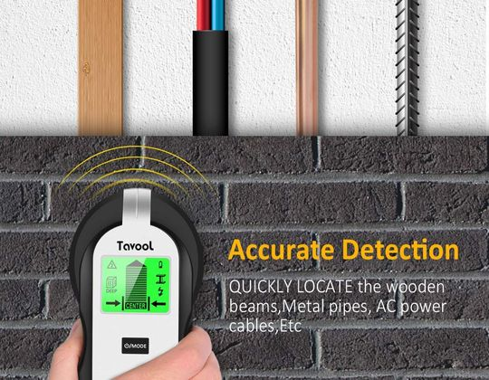 Wire Detector With Green LCD