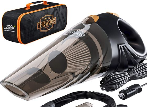Portable Car Vacuum Cleaner With Bag