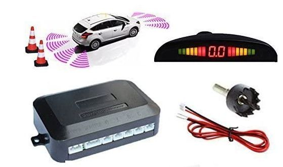 Car Parking Sensor Kit With Range Display