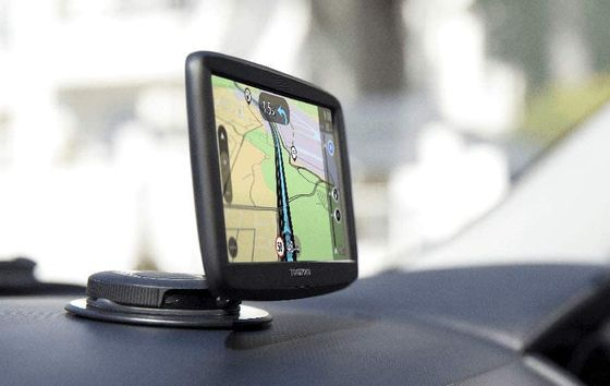 Car Sat Nav Start With Map