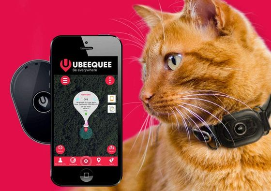 GPS Cat Tracking Device With Smartphone
