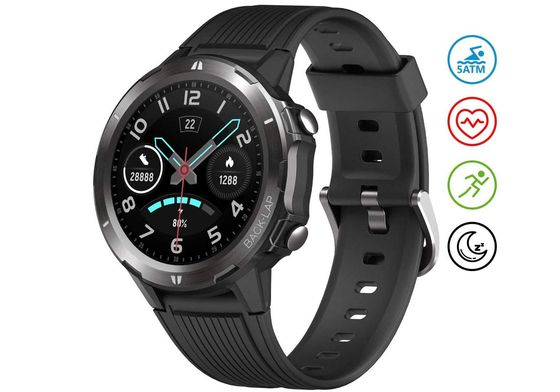 Wearable Sleep Monitor Watch With Round Dial