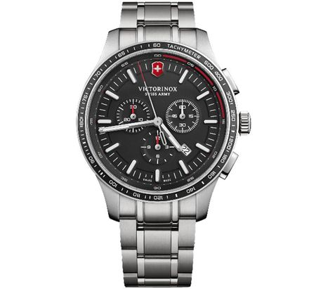 Mens Sport Swiss Watch In Steel
