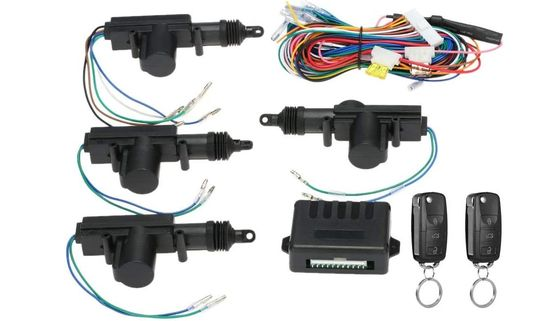 Car Central Locking Kit With Colour Cables