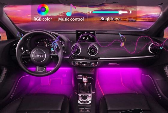 Purple Interior Car Light Colours