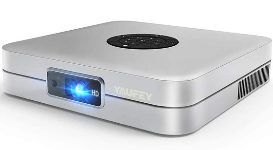 Mini HDMI 3D Projector In Chrome Finish