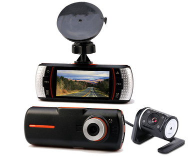 In Car Camera System With Wide Display