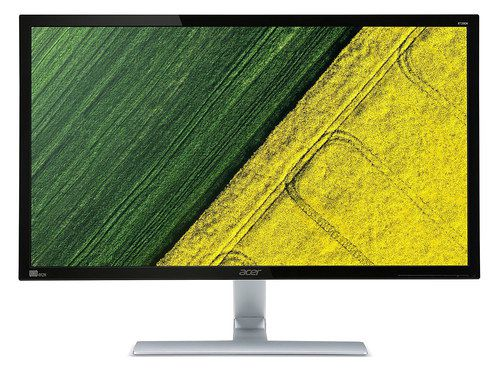 27 Inch UHD Monitor With Black Border
