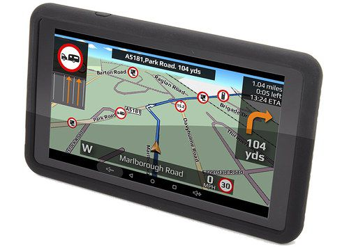 Motorhome Sat-Nav With Maps