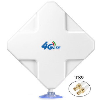 Antenna For WiFi Router In White With Blue Base