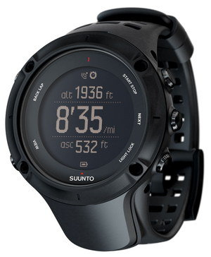 Suunto GPS Running Watch With Rounded Face