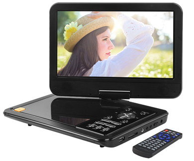 DVD Player In-Car With Black Remote
