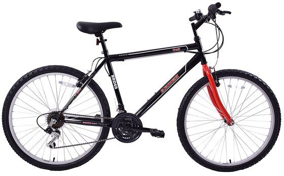 Black And Red Colour Mountain Bike