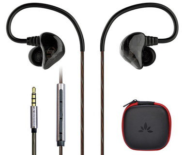 Quality Earbuds Bass With Black Case